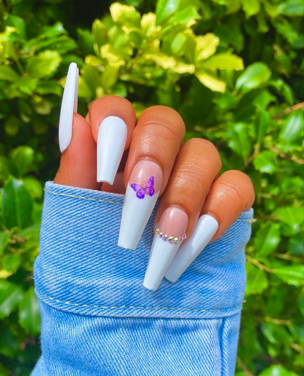 Pinterest Truubeautys Pinteresttruubeautys In 2020 Long Acrylic Nails Best Acrylic Nails Nails