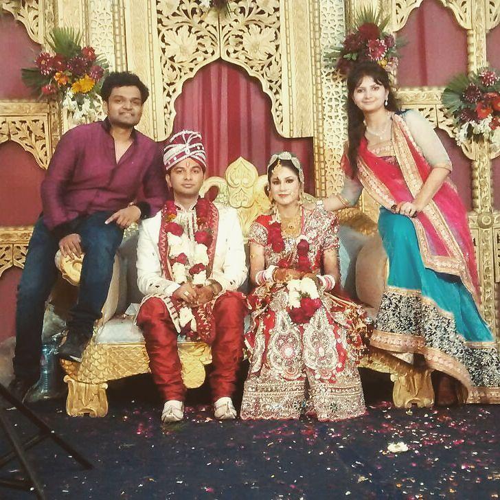 Cousin's wedding 😊 👫 💃family wedding party groom