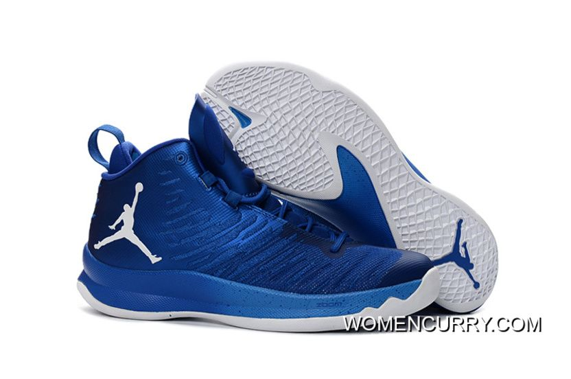 Jordan Super.Fly 5 Game Royal Blue White Men s Basketball Shoe New ... 7fa3da655
