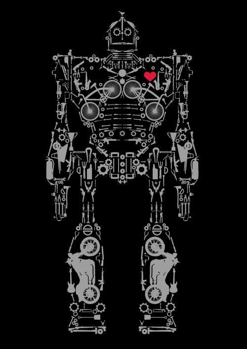 Iron Giant u2026 Pinteresu2026 - new robot blueprint vector art