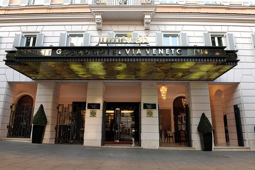 Jumeirah Grand Hotel Via Veneto Rome Exterior