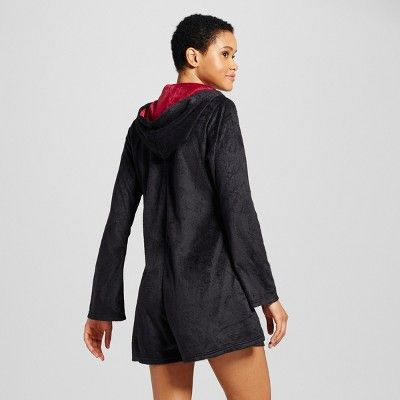 c5995a0f9049 Women s Warner Bros. Harry Potter Pajama Romper - Black S M