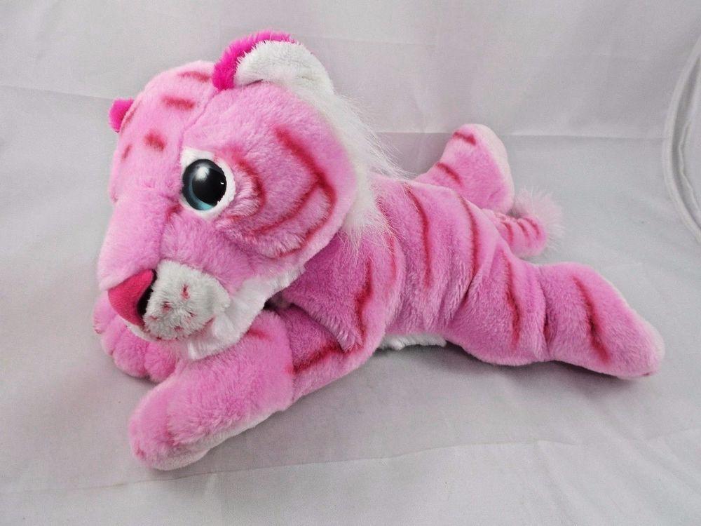Petting Zoo Pink Tiger Plush 12 Pettingzoo Toys Pinterest