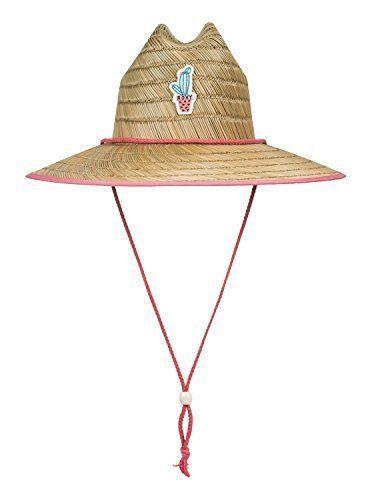Roxy Big Girls  Tomboy Youth Straw Hat Peaches N Cream 1SZ  fashion   clothing 0270aa01bdfe