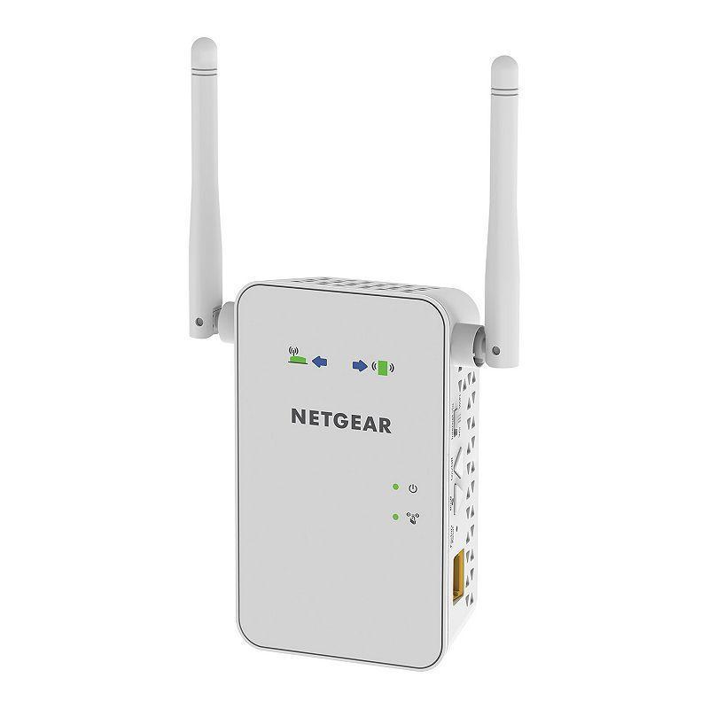 Netgear Ac750 Wall Mount Wifi Range Extender White In 2020 Netgear Wifi Mesh Wifi Extender