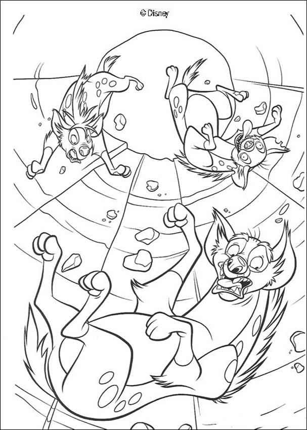Discover this coloring page of The king Lion Movies. Color Shenzi ...