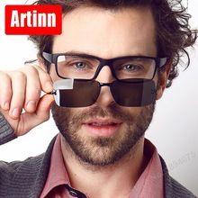 c7c5485185 Anteojos recetados marcos hombres gafas gafas equipo 2 en 1 gafas de sol de  óptica vista pc spectacl clip sombra M5132