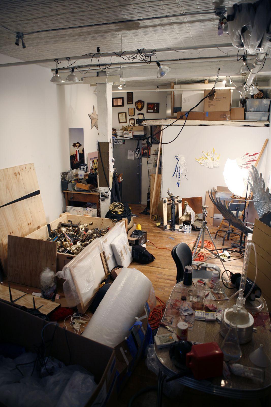 Inside the artists studio jason bailer losh