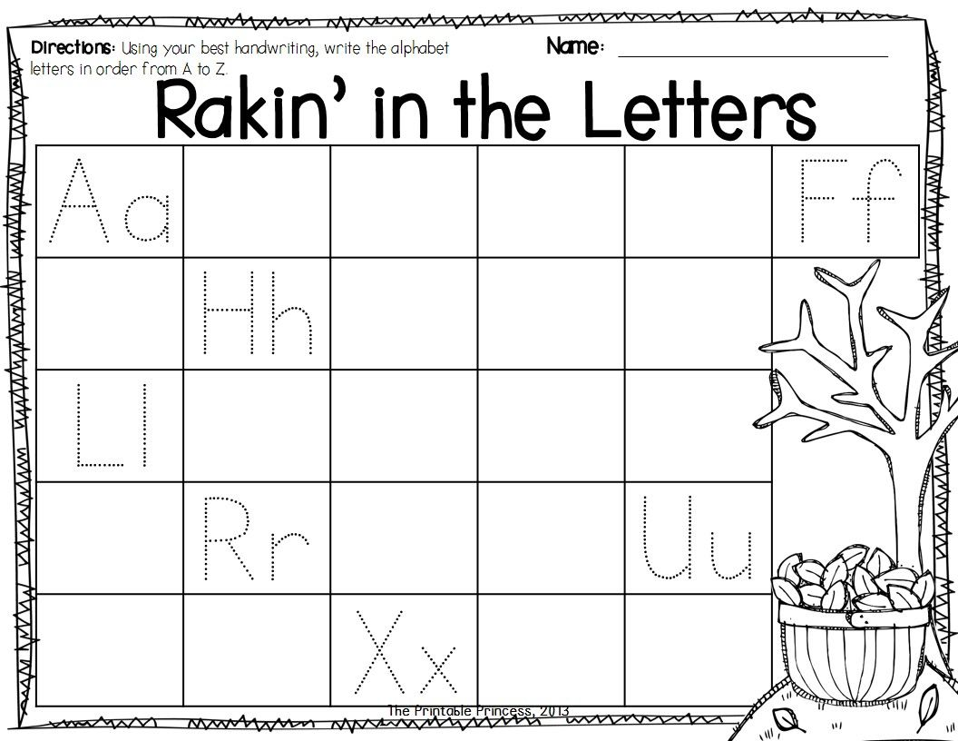 Fall Activities For Kindergarten Math And Literacy