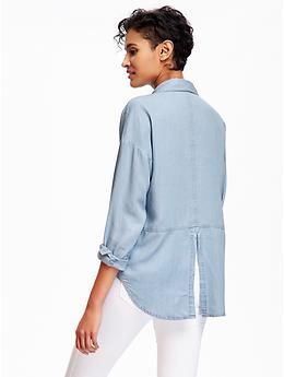 Old Navy Denim Shirts for Women