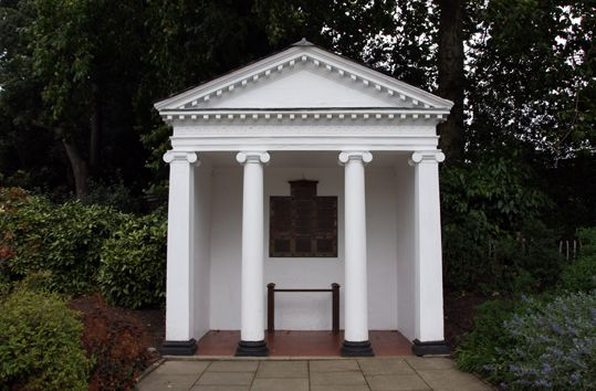 A bad witch's blog: Remembrance Day: Temple of Arethusa at Kew