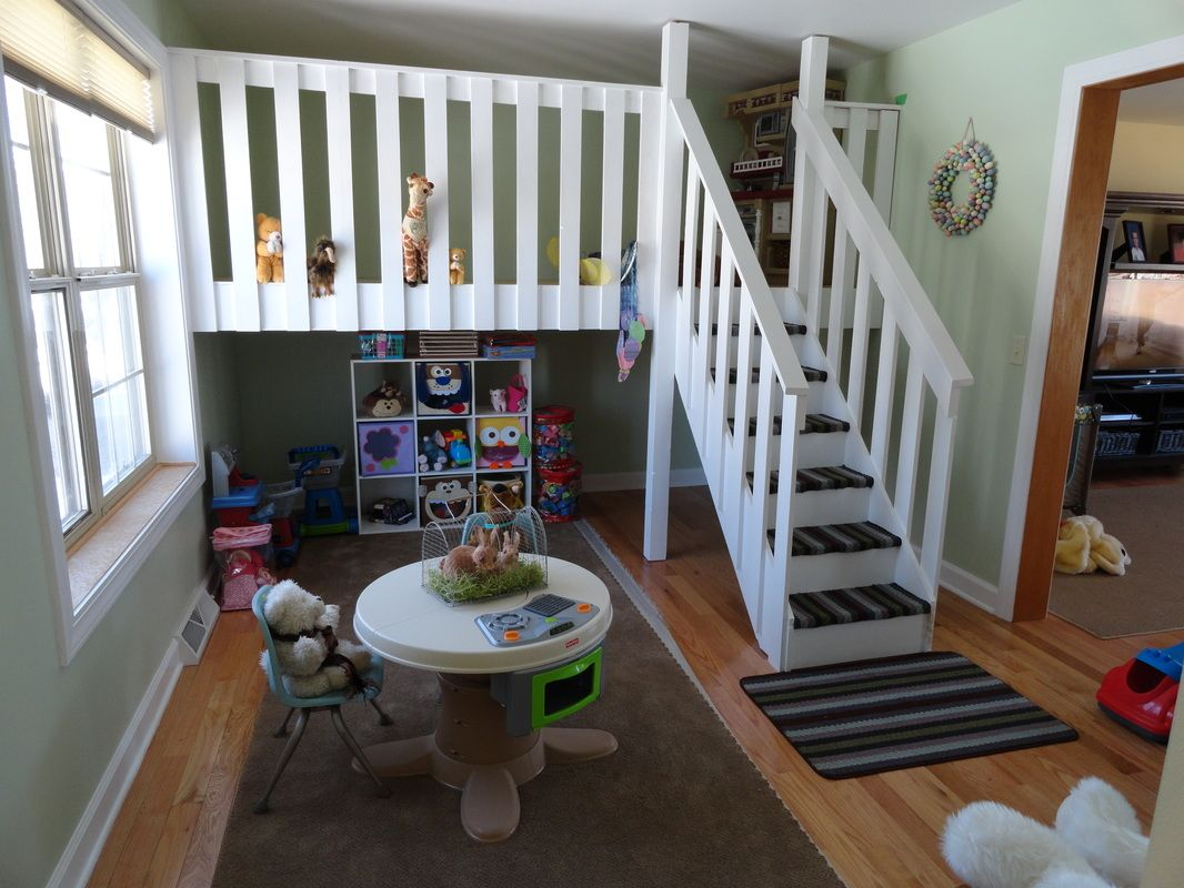 Amazing Loft Playroom Lofty Inspirations For DIY Loft Day - Home daycare design ideas