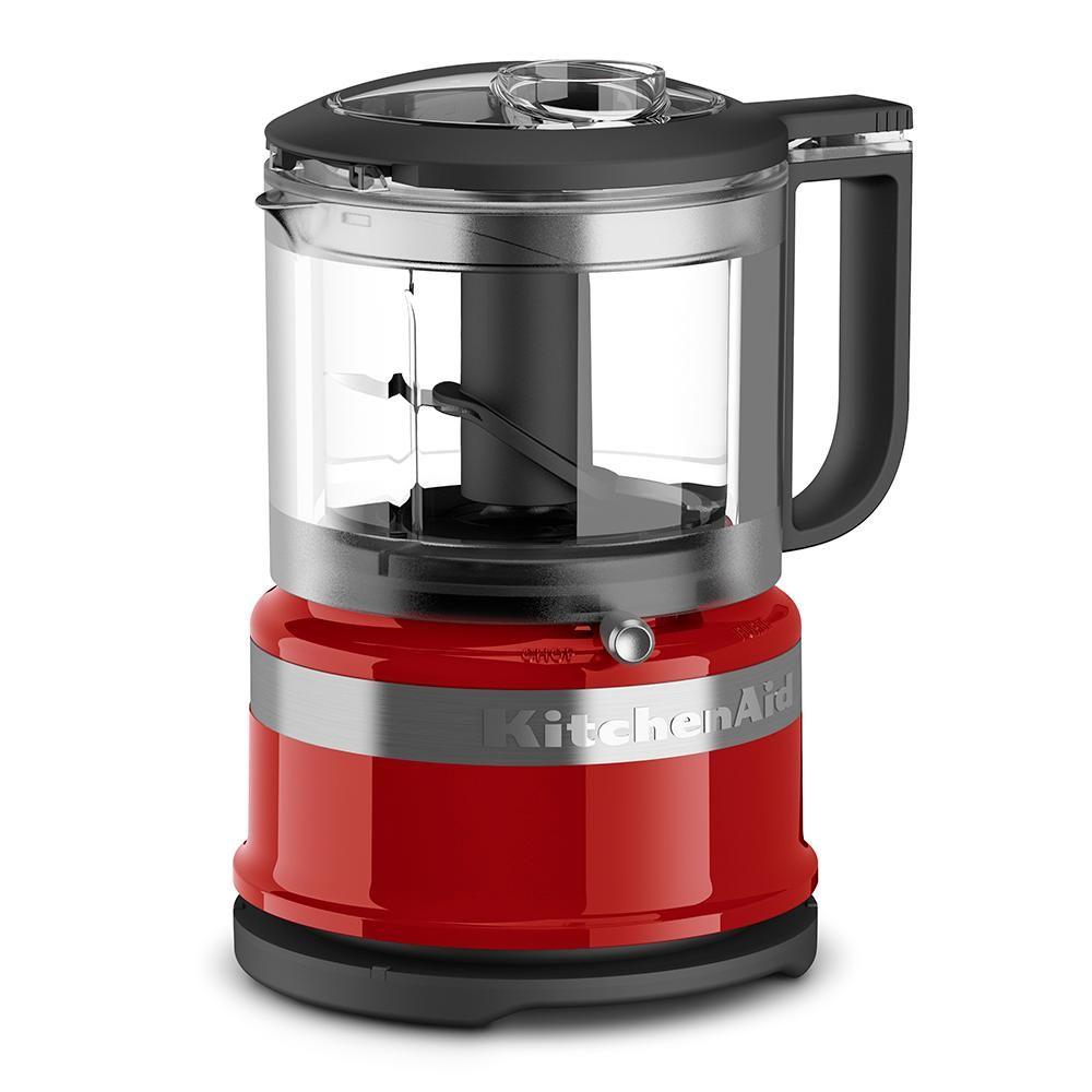 Amazon Com Kitchenaid Kfc3516wh 3 5 Cup Mini Food Processor