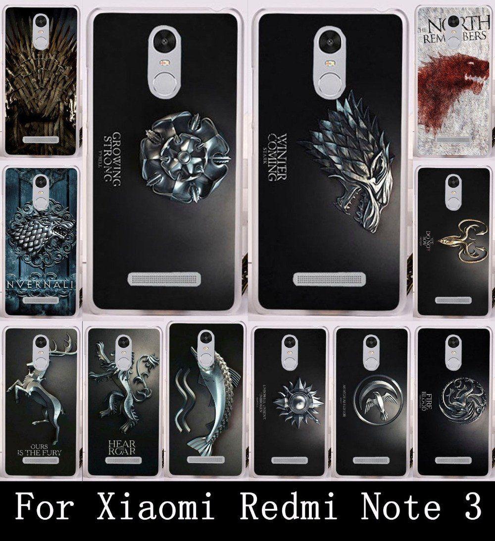 low priced 9c72c 38510 Xiaomi Redmi Note 3 Case Cover Game of Thrones | Geekfactors | Phone ...