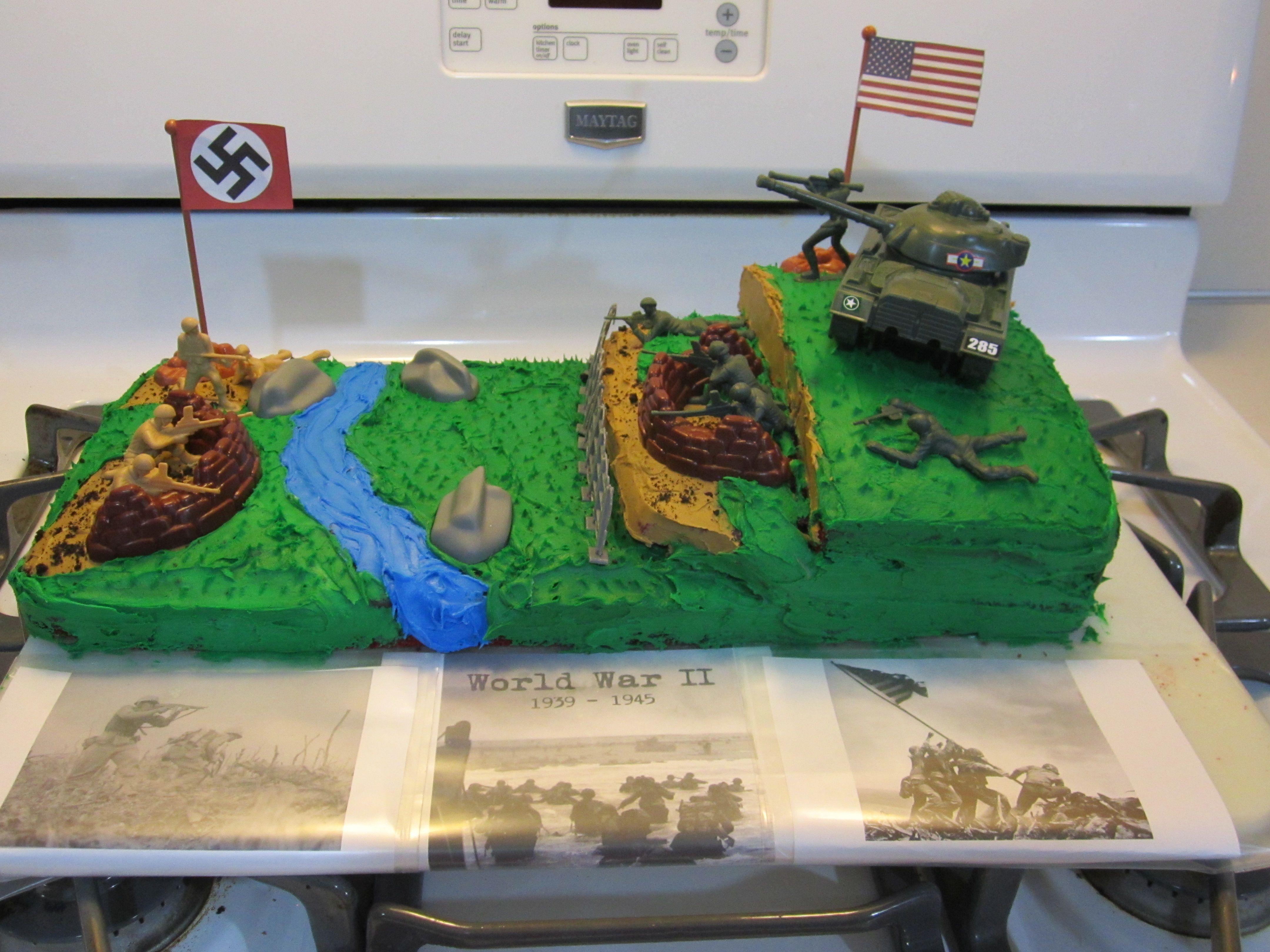 Andon S 9th Birthday War Ii Theme