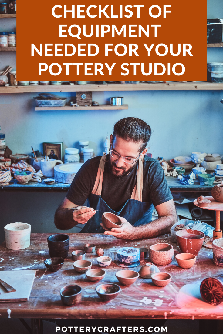 Before you decide on the equipment that you'll invest in for your pottery studio, you need to conduct an initial assessment. You can gradually add more pottery equipment and specialty tools as you progress. What's more important is that you have a clear vision of how you can perfect your ceramics craft. #pottery #potterytools #diypottery #ceramics #crafts