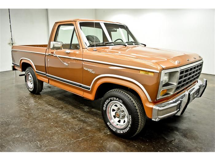 1981 Ford F150 >> 1981 Ford F 150 Ranger Pickup Truck American Automobiles