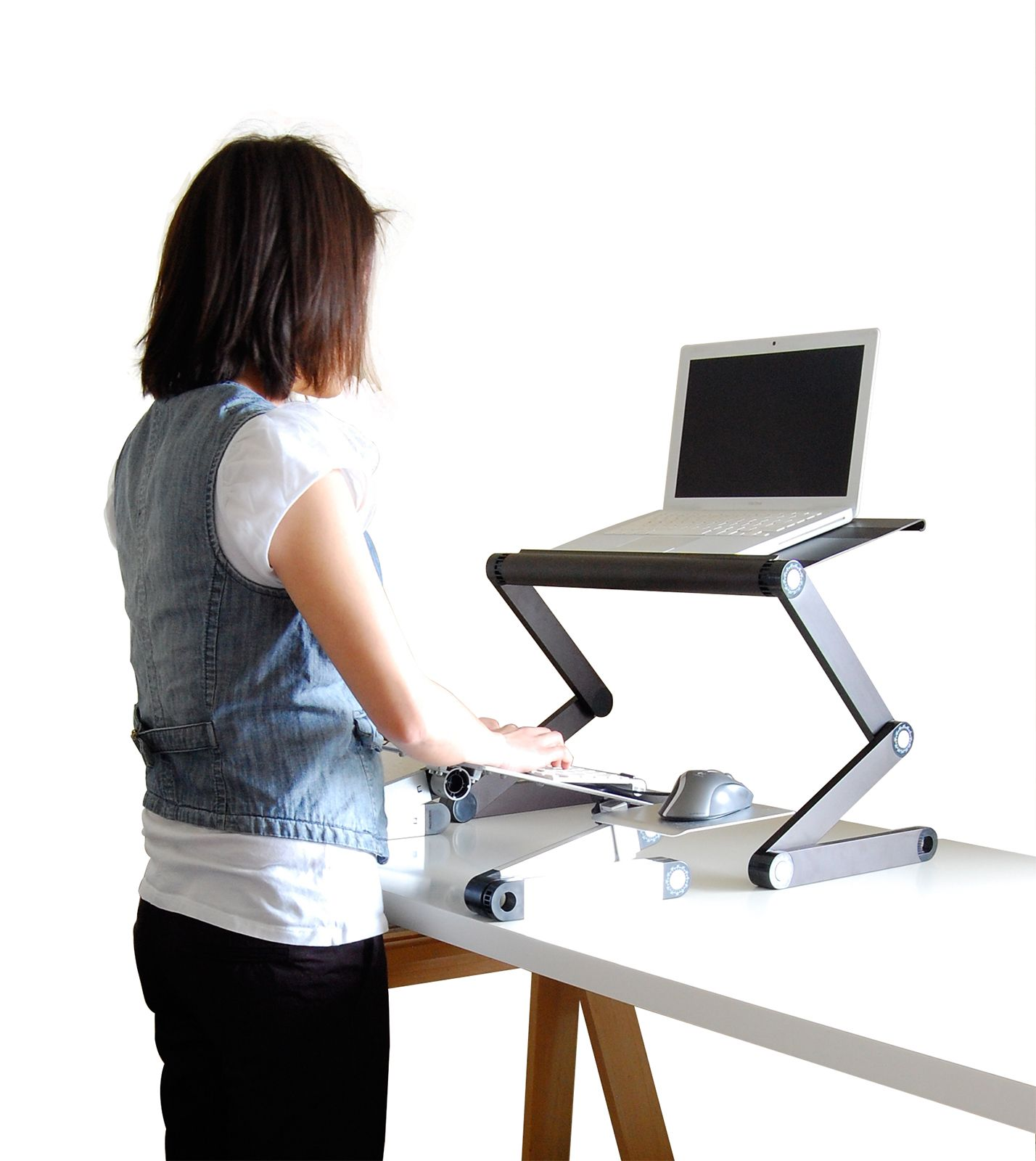 Standing Desk For Laptop Laptop Mobile Desk