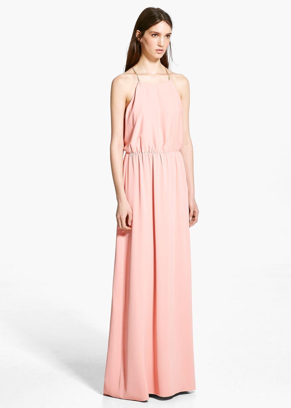 Online exclusive - flowy dress - Woman  MANGO Canada
