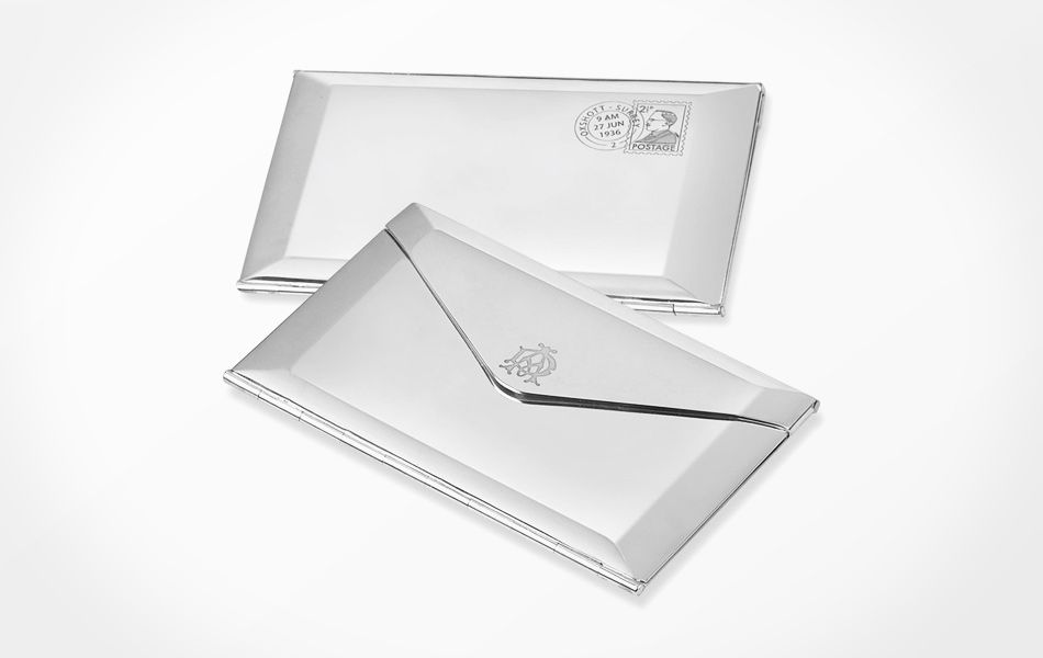 Dunhill Envelope Business Card Case | accessories & jewelry ...