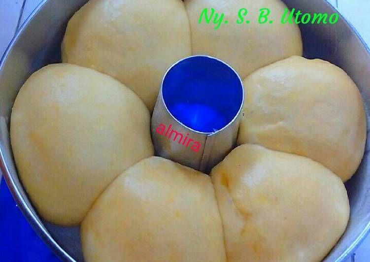 Resep Roti Sobek Kukus Isi Meises Oleh Ny S B Utomo Resep Rotis Resep Roti Roti