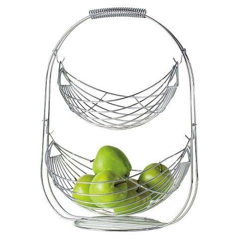 Torre & Tagus Swing 2 Tier Fruit Basket