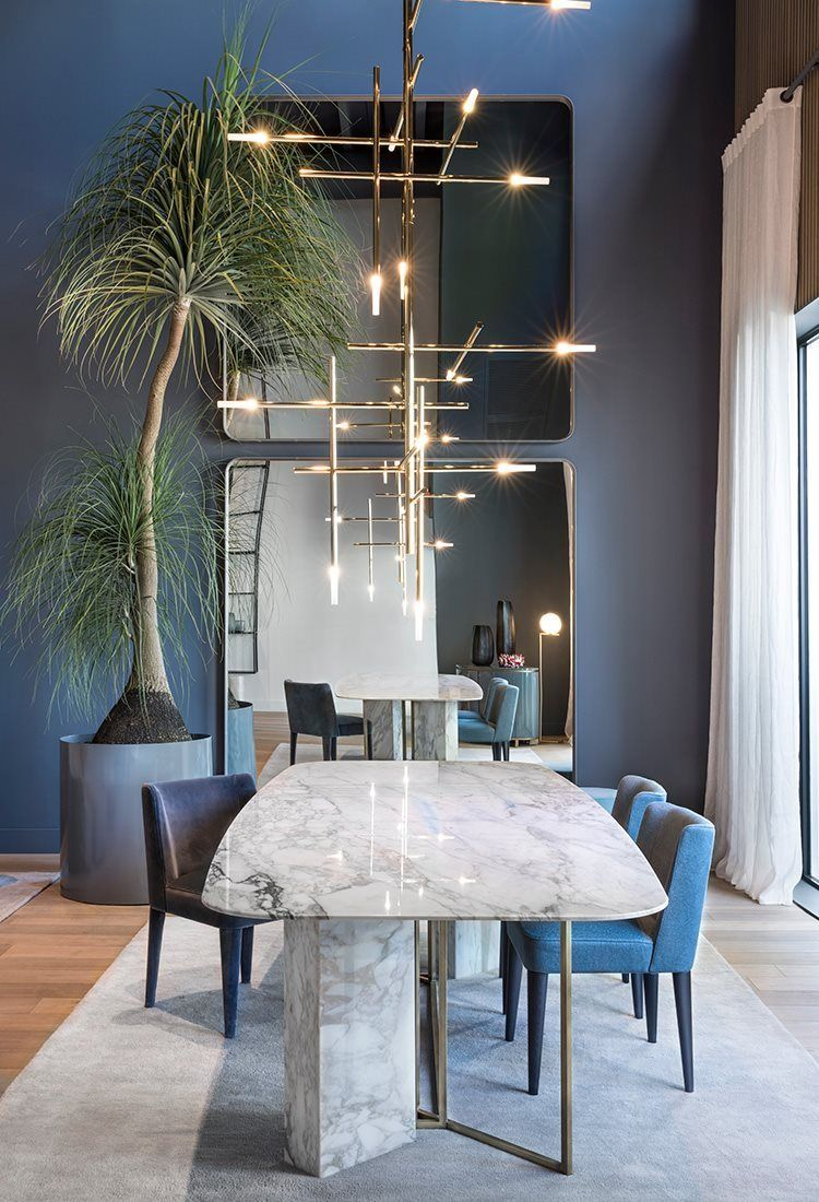 Meridiani Miami 2017 Dining Room Industrial Dining Room Trends