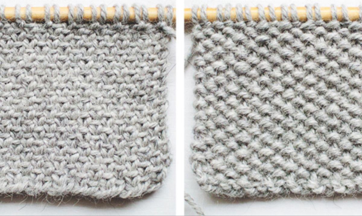 Knit the Linen Stitch 4 Ways #slipstitch