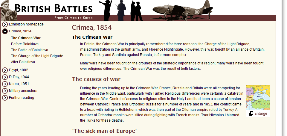 Crimea The National Archives | Exhibitions | British Battles