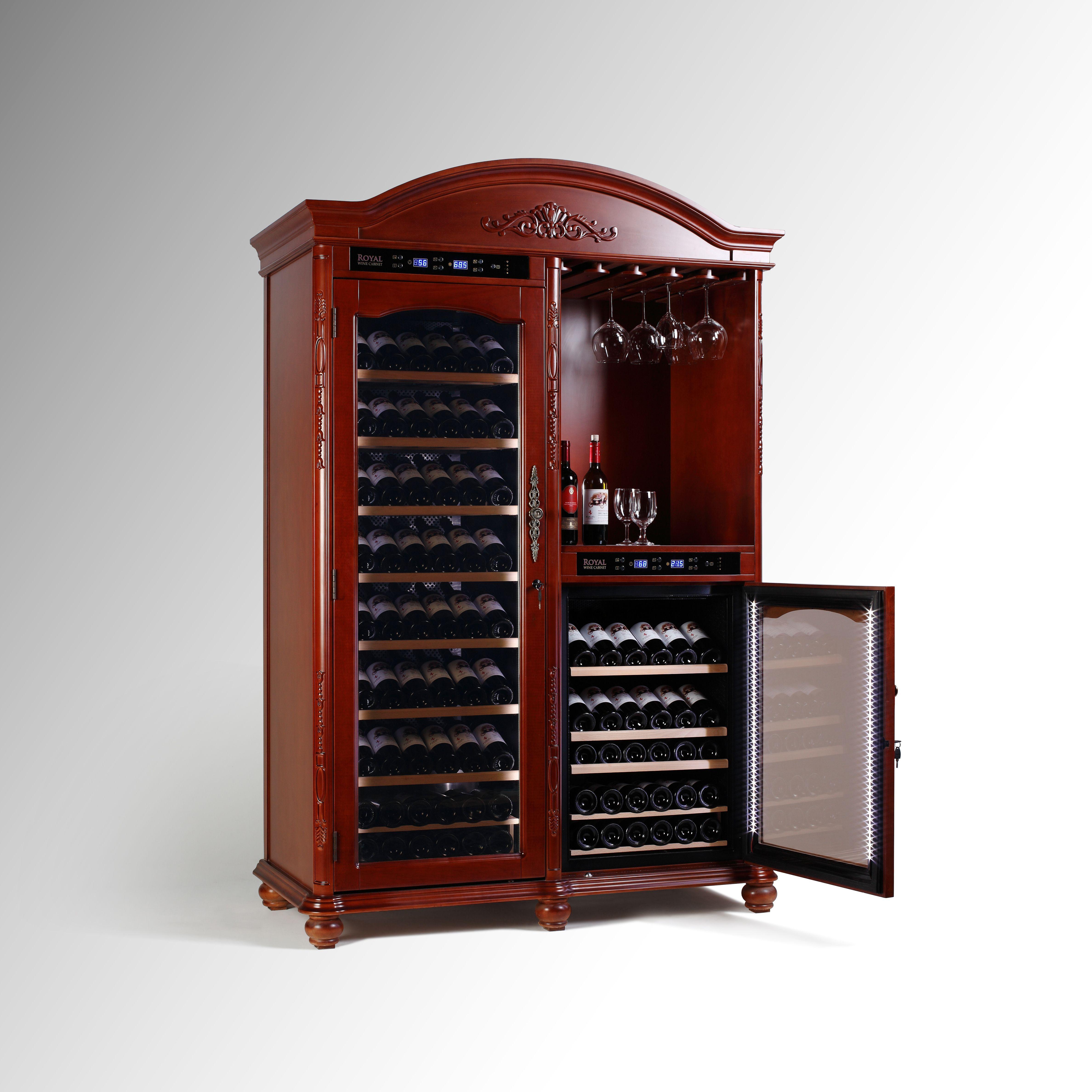 Home Decoration Furniture Climate Controlled Wine Cellar Cabinet 232 Bottles Http Vinbro Com Decoracion De Unas Cava