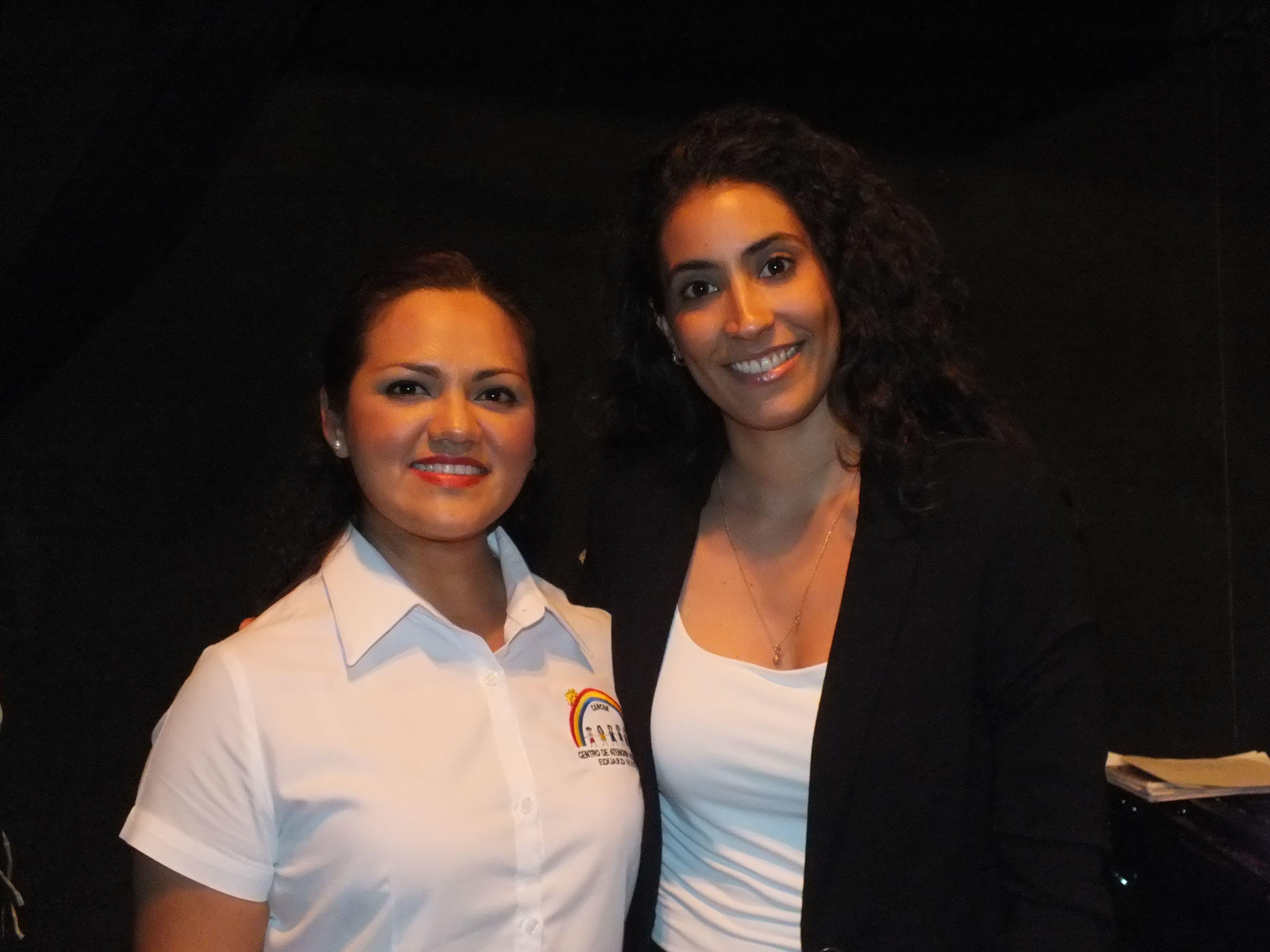 Pamela Estrada e Isabel Mesa Vega
