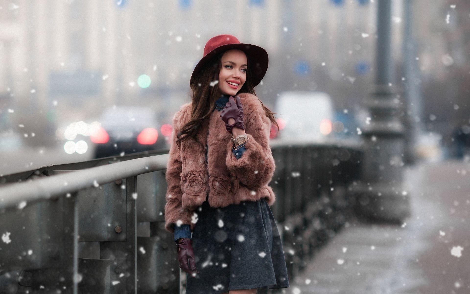 позитивные открытки фото на улице зимой в городе меню приложений ищите