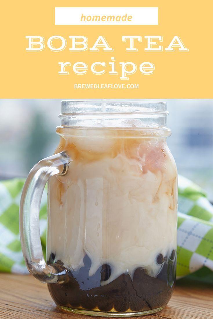 Bubble tea 101 how to make boba tea at home brewed leaf