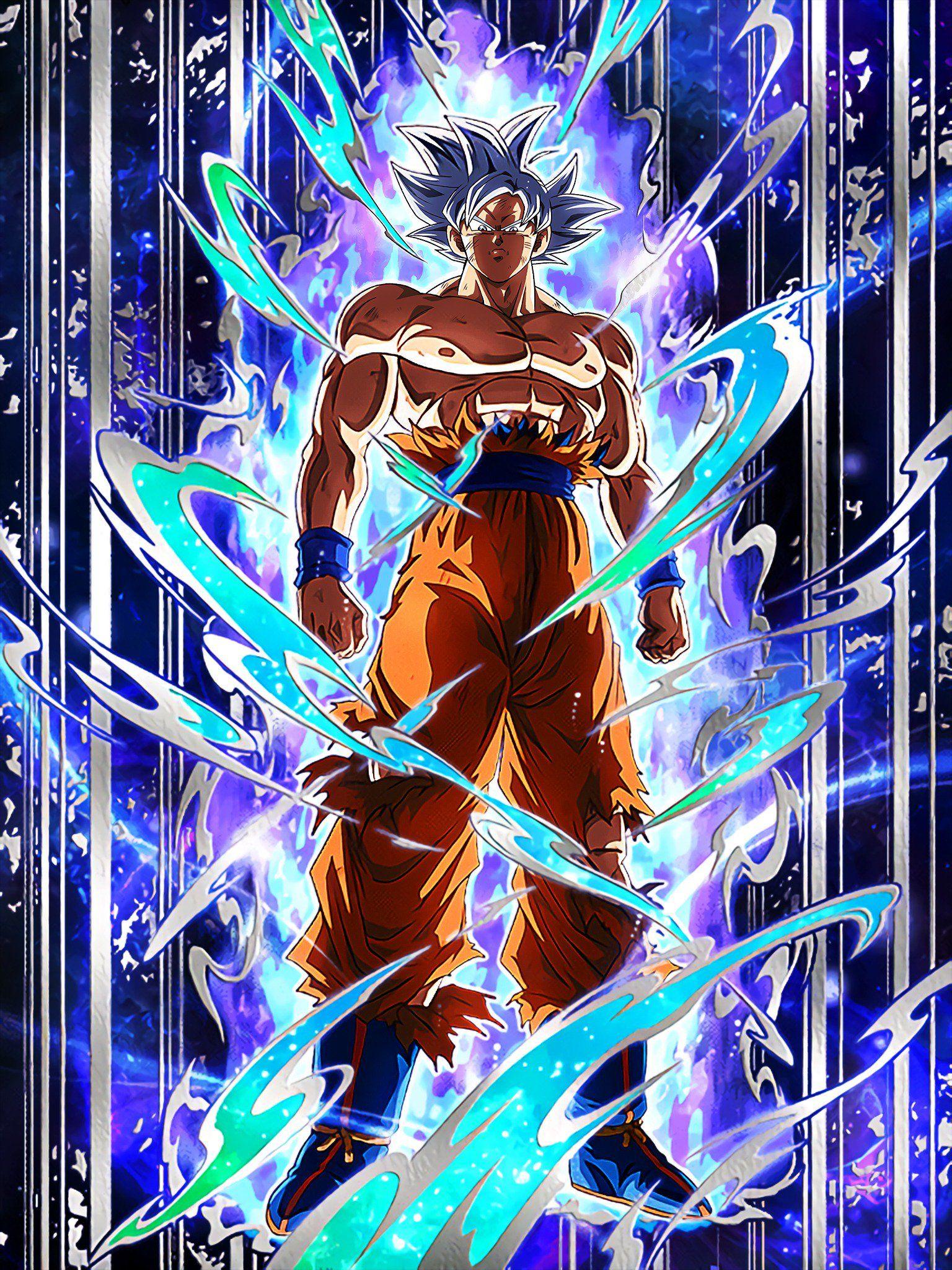 Transdimensional Instinct Perfected Ultra Instinct Goku/Dragon Ball Z: Dokkan Battle | Dragon ...