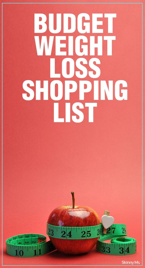 Budget Weight Loss Shopping List | Healthy Budget 101 ...