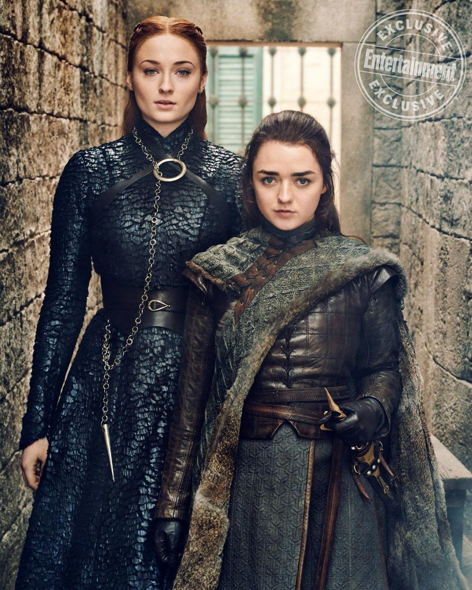 What The Battle Of Winterfell Means For The Final Season Of Game Of Thrones Game Of Thrones Costumes Sansa And Arya Game Of Thrones Cast