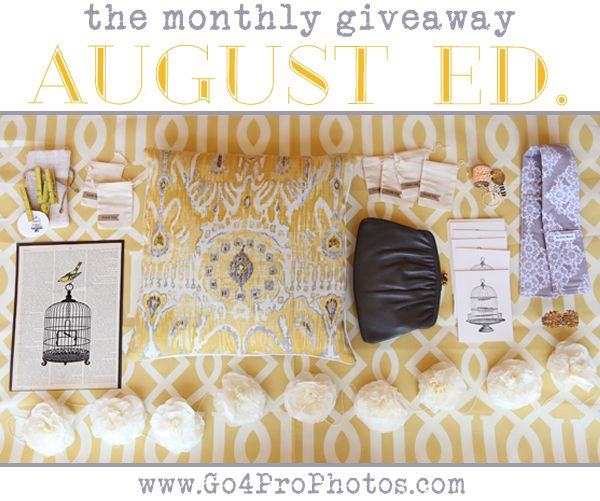 All of this is being given away to one reader! http://www.go4prophotos.com/giveaways/the-monthly-giveaway-august-ed/