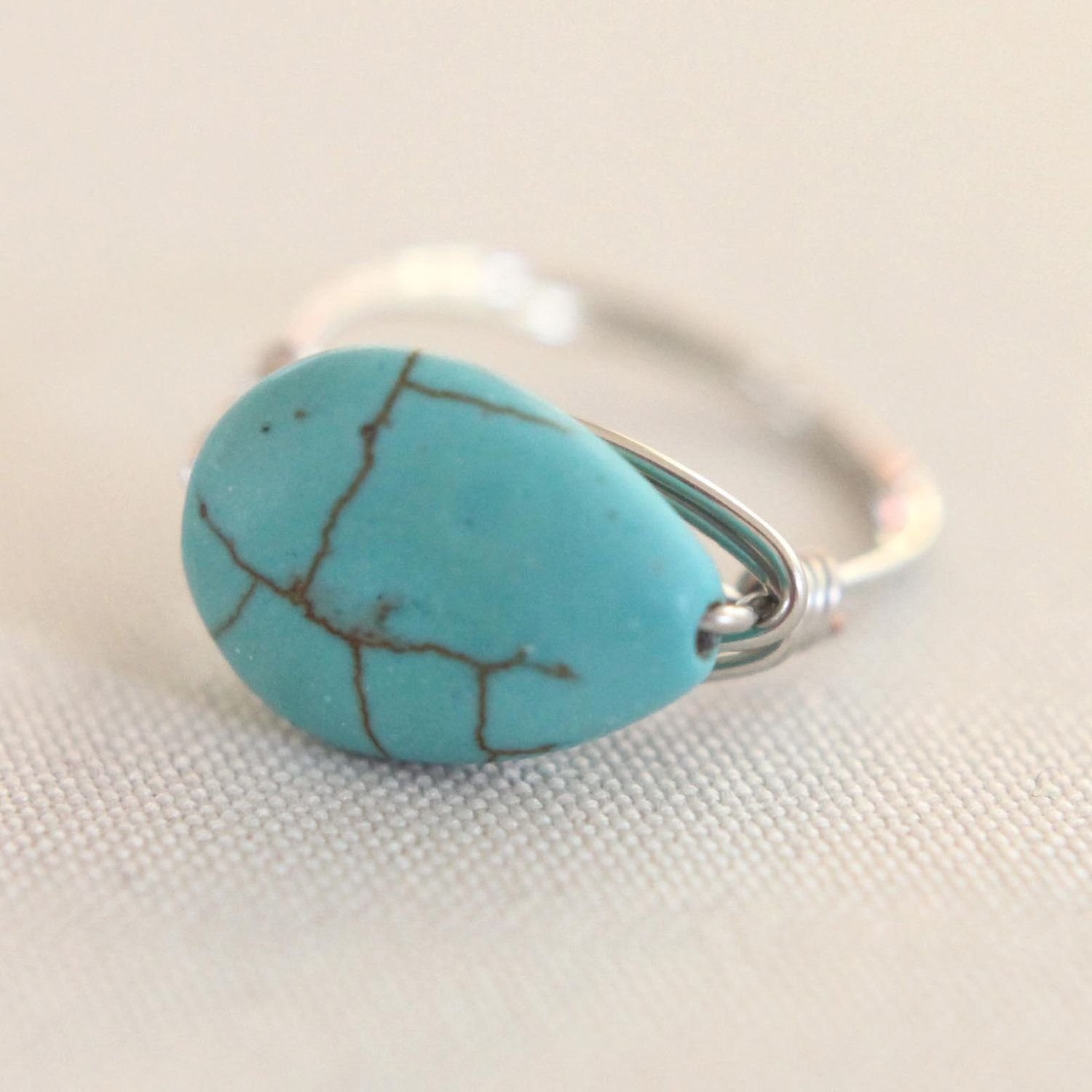 SALE JEWELRY TUTORIAL how to make a wrapped wire ring от dovelyday