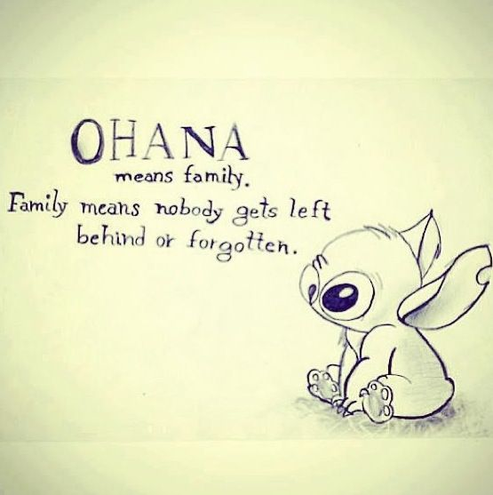 LILO and stitch!This is probably one of my favorite quotes of all time.