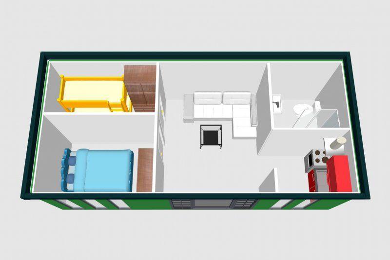 Ferienwohnung Container 3 5 X 8 Wohncontainer Container Container Hauser