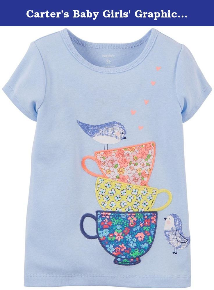 cd81c717 Carter's Graphic Tee (Baby) - Teacups Carter?s is the leading brand of  children?s clothing, gifts and accessories in America, selling more ...