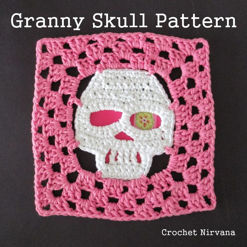 The Free Crochet Skull Granny Square Pattern Now You Can Turn