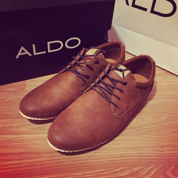 ALDO Mens Shoes Size 13 Mens Leather Good Condition