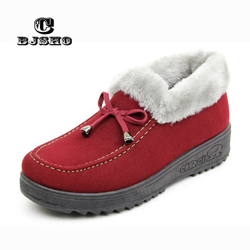 CBJSHO Lovely Floor Soft Warm Home Slippers Shoe Cotton Winter Slippers  Women Plush Winter Comfortable Indoor d98e257511a8