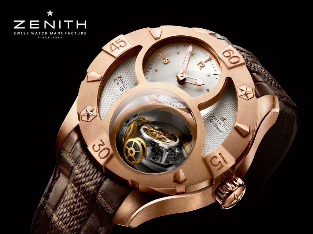 Zenith  El Primero Tourbillon Chronograph watch