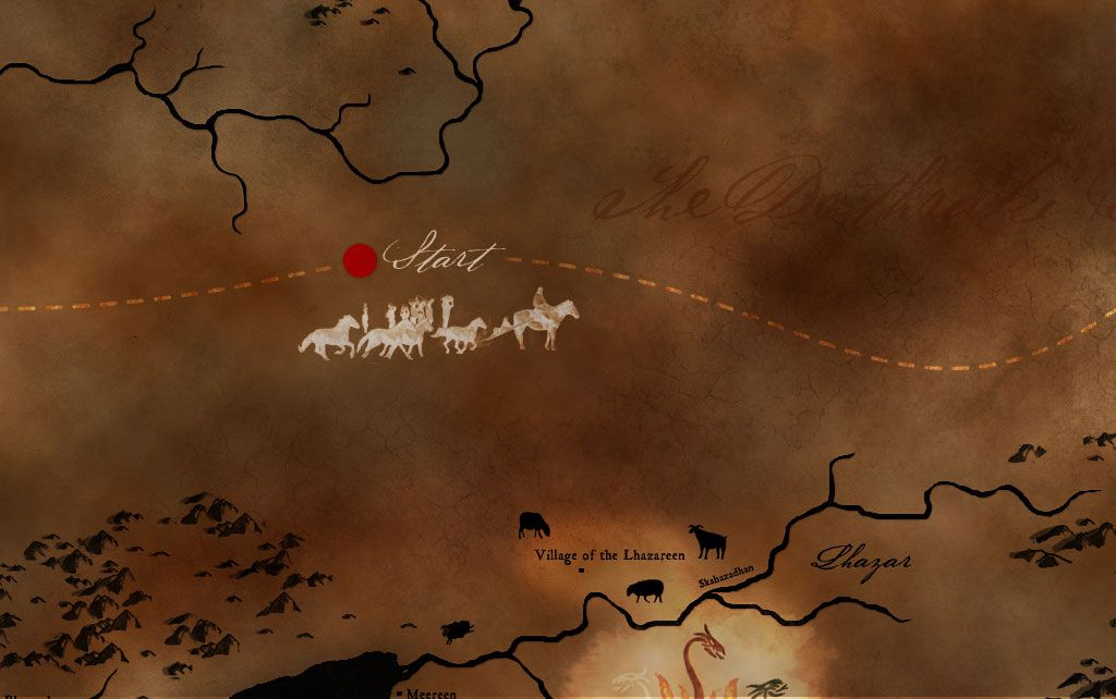 Journey of daenerys targaryen orphaned by war daenerys targaryen game of thrones viewers guide gumiabroncs Images