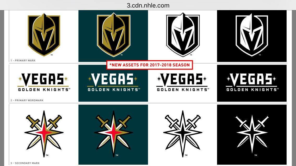The Vegas Golden Knights  trademark application was denied weeks after  being unveiled - SBNation.com 824927a6f
