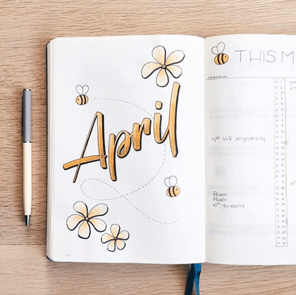 15 Adorable April Monthly Covers Ideas to Steal