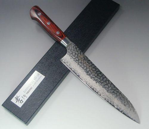 SAKAI TAKAYUKI hammered Damascus 33 layer VG 10 Japanese Gyuto chef knife 180mm