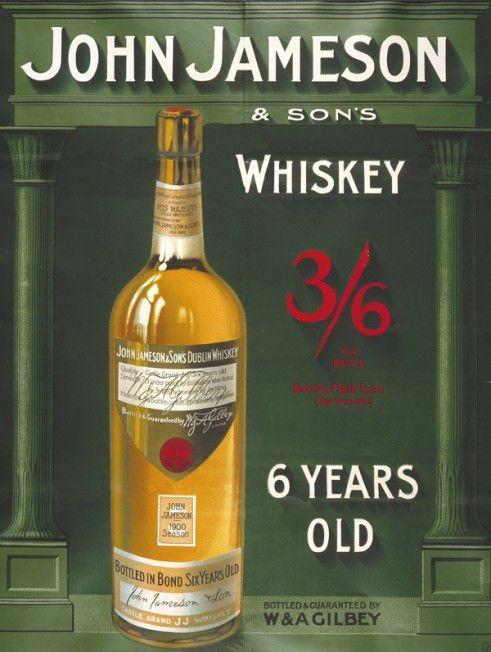 John Jameson Whiskey Metal Sign Art Deco Retro Bar Pub Den Decor Alcohol Omsc Alcohol Jameson Irish Whiskey Jameson Whiskey Irish Whiskey
